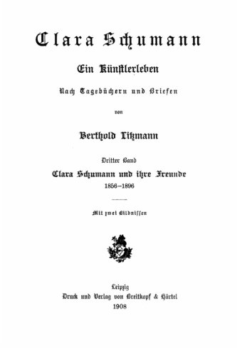 Clara Schumann, ein K PDF
