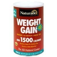 Naturade gain de poids Nutrition instantanée Drink Mix, vanille, 20.03 once