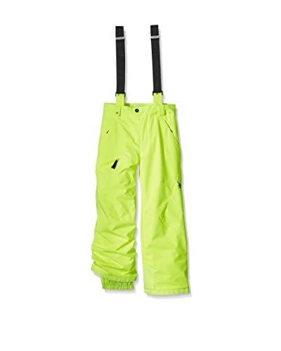 SPYDER Pantalone da Sci Boy'S Propulsion [Lime]