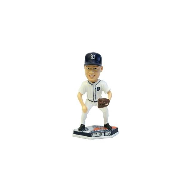 Detroit Tigers MLB Brandon Inge Forever Collectibles Plate Base Bobble Head