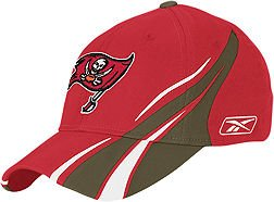 Reebok Tampa Bay Buccaneers Red Player Flex Hat by Reebok