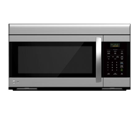 LG LMV1683ST Over-The-Range Microwave Oven with 300 CFM Venting System, 1.6 Cubic Feet (Lg Microwave Oven compare prices)