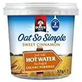Quaker Oats Oat So Simple Sweet Cinnamon Porridge 57G