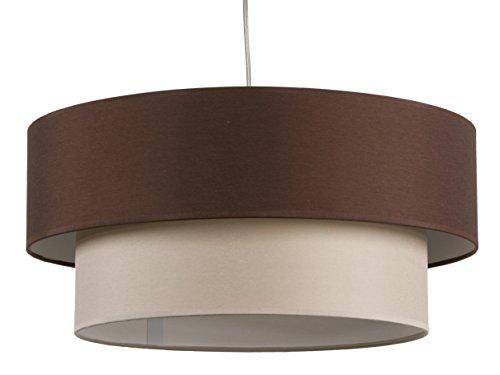 maison-de-lune-42286-lampara-techo-doble-pantalla-textura-color-marron