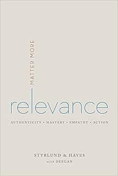 Relevance: Matter More