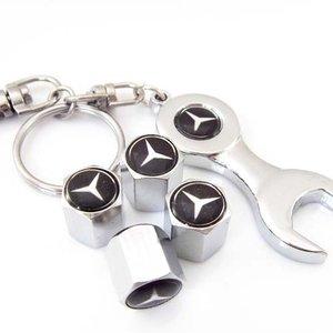 Sar mercedes benz valve stem caps with key for Mercedes benz valve stem caps