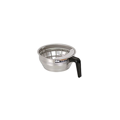 Bunn 20216.0000 Funnel Assembly With Stainless Steel-Black Handle front-602020