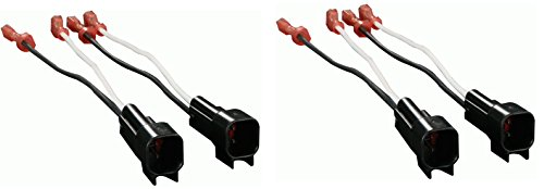 (2) Pair of Metra 72-5600 Speaker Adapters for Select Ford Vehicles - 4 Total Adapters