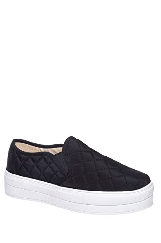 Railway Quilted Slip On Low Top Sneaker