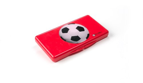 Uber Mom Wipebox, Red Soccer Ball
