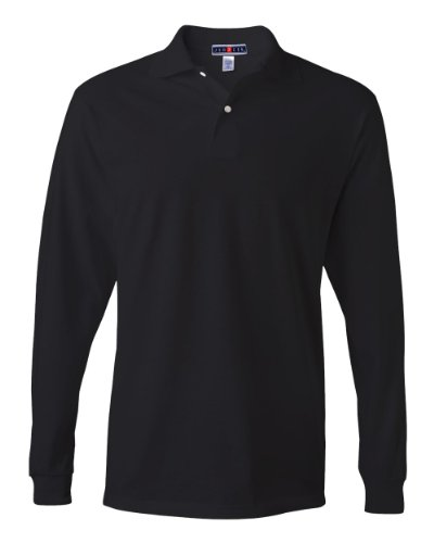 jerzees-56-oz-50-50-long-sleeve-jersey-polo-with-spotshield-2xl-black