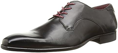 BKR B964 Vit, Chaussures de ville homme - Noir (Black), 43 EU