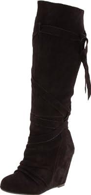 Amazon.com: Naughty Monkey Women's Girl Talk Boot, Tan, 6.5 M US