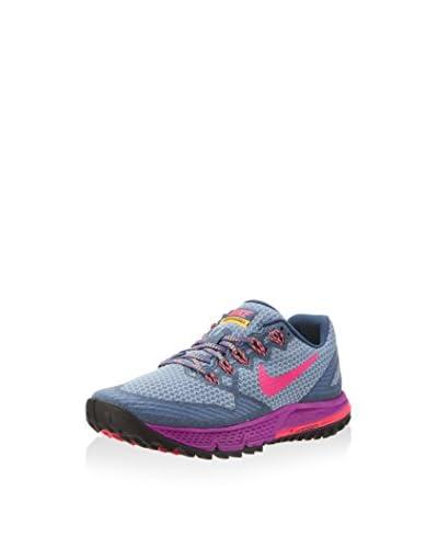 Nike Sneaker Air Zoom Wildhorse 3 Trail graublau/violett