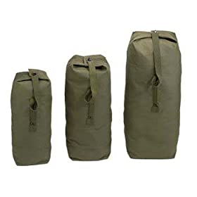 Canvas Military Duffle Bag Olive Drab