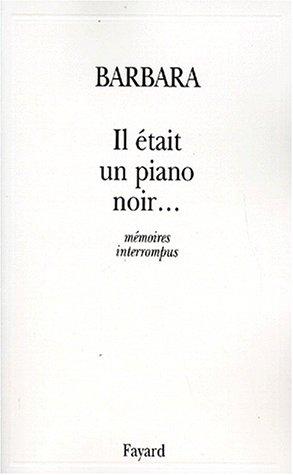 Il était un piano noir