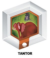 Disney Infinity Series 3 Power Disc Tantor (elephant from Tarzan) - 1