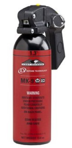 Defense Technology 56895 MK-9 Stream, 1.3% Red Band/1.3% Blue Band Pepper Spray