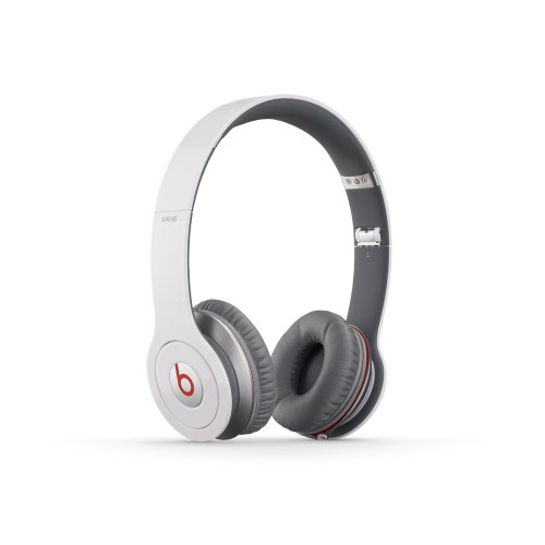 Beats Solo HD On-Ear Headphone (White)