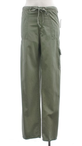 Sanctuary Hemp Green Cotton Original Beachcomber Cargo Pant 33