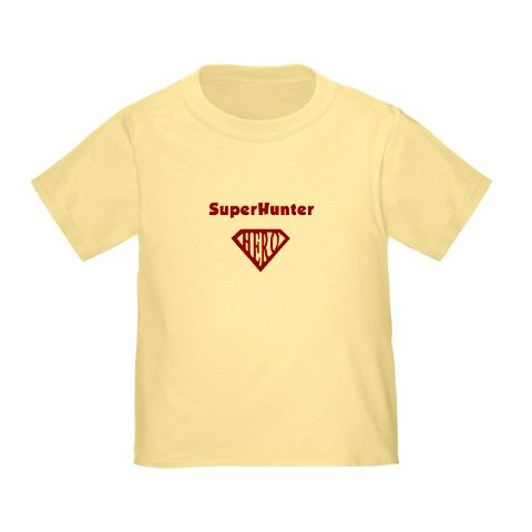 Personalized SuperHunter Hunter Superman Hero Baby Infant Toddler Kids Shirt - Valentine's Day Collection