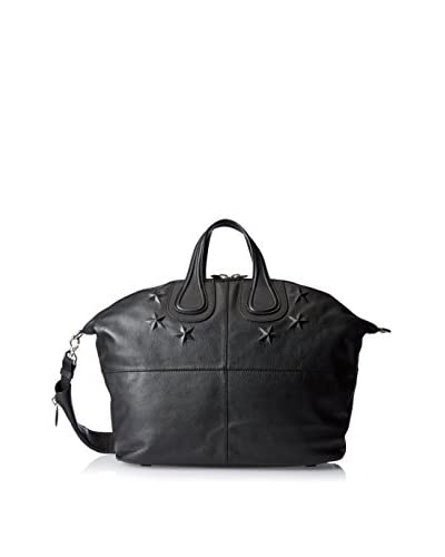 Givenchy Embossed Star Nightingale Bag, Nero