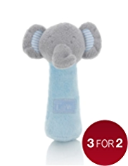 Elephant Jingle Stick Toy