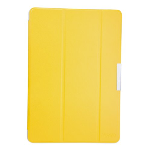 Wawo Samsung Galaxy Tab Pro 10.1 Inch Tablet Smart Cover Fold Case - Yellow