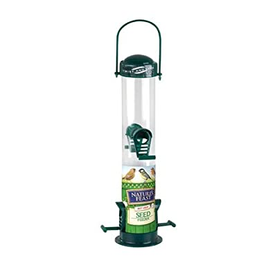 Natures Feast 20 cm Seed Feeder with 2 Port