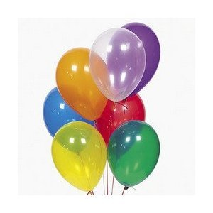 Learn More About 11 Assorted Crystal Tone Balloons (144 pcs)