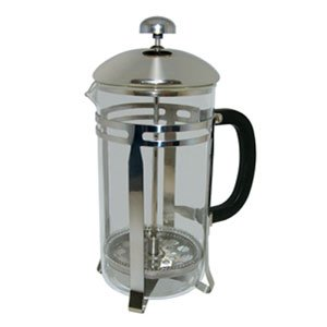 20 oz. Glass / Stainless Steel French Coffee Press from Update International