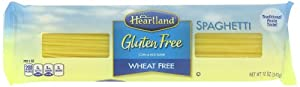 Heartland Gluten Free Spaghetti 12 oz. (Pack of 5)