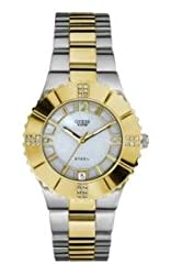 GUESS Analog Mother of Pearl Dial Womens Watch - W10220L1