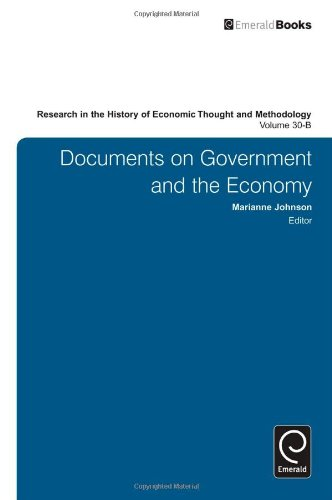 Research in the History of Economic Thought and Methodology: Documents on Government and the Economy