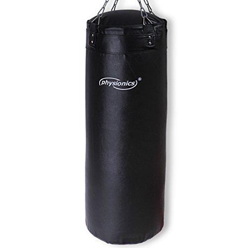 physionics Sacco da boxe pugilato pugile pieno 30 kg 120 cm con gancio