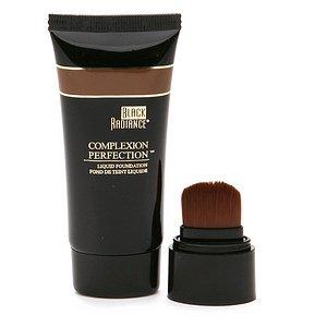 Black Radiance Complexion Perfection Liquid Foundation, Ebony, 1 Fl Oz front-566676