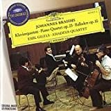 Brahms: Quartet No.1, Op.25 (DG The Originals) Emil Gilels