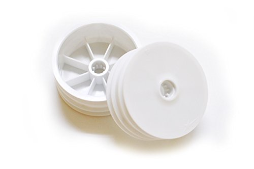 Team Durango TD510020 DEX210 2WD Front Wheel (2-Piece), White