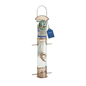 Copper Tube Bird Feeder-BA01137
