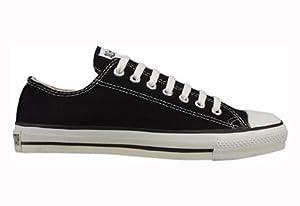 CONVERSE Unisex Chuck Taylor Low Top Sneaker (Black 16.0 M)
