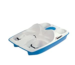 Buy Kl Industries Sun Dolphin 5 Person Pedal Boat With Stainless Steel Package by Sun Dolphin