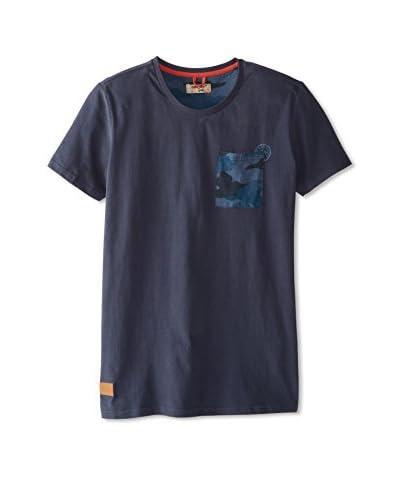 Triple Five Soul Men's T-Shirt with Camo Pocket