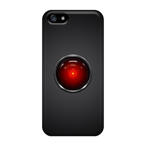Ice Cream Song Fashion Protective 2001 Space Odyssey Hal9000 Case Cover For Iphone 5/5s (2001 A Space Odyssey Phone Case compare prices)