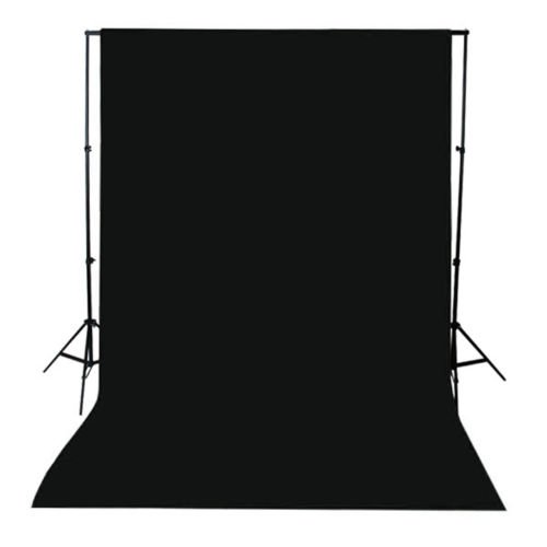 Black Screen Background Backdrop Photo Studio Muslin 10ft X 12ft Screen photograph