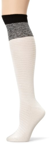 Modern Heritage Women's Mixed Texture Knee High Socks