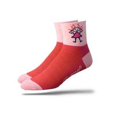Buy Low Price DeFeet Women's AirEator Herculisa Cycling/Running Socks – AIRHER (B000NOD66S)