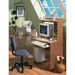 Buy Low Price Comfortable Mobile Computer Cart – Nexera Furniture – 2103 (B00409EVK2)