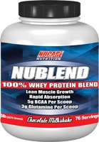 Christmas Nublend Whey Protein Blend, 5 lbs, Strawberry Flavor, .95 Deals