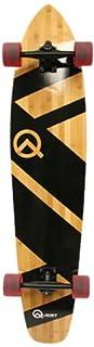 Quest Super Cruiser Artisan Bamboo Longboard Skateboard, 44