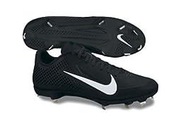 NIKE Mens Zoom Vapor Elite BB Metal Baseball Cleats - Size: 13, Black/white